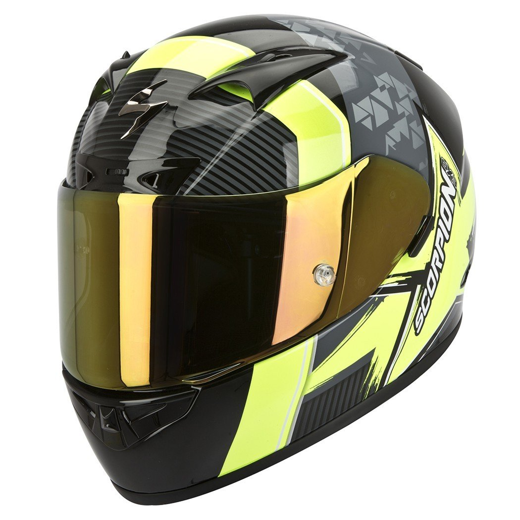 Scorpion EXO 710 AIR CRYSTAL Black/Neon Yellow XL (61/62)