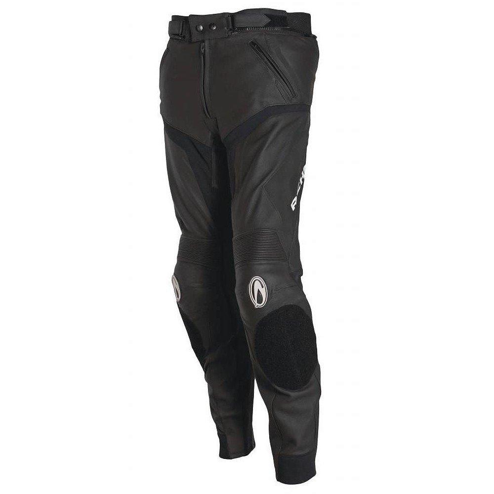 Pánské kožené kalhoty RICHA Mugello (černé) 50