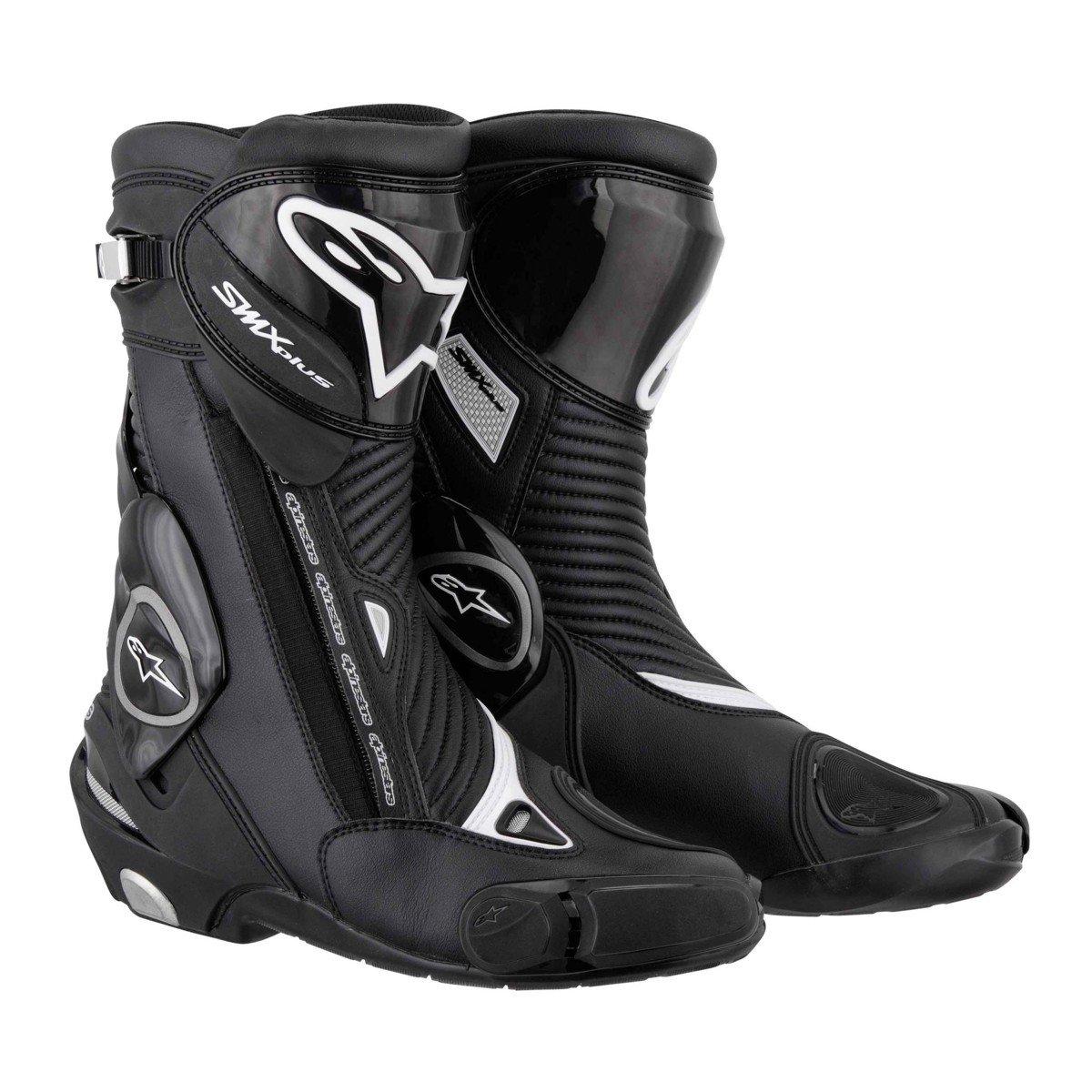 Pánské motocyklové boty ALPINESTARS S-MX Plus (černé) 36