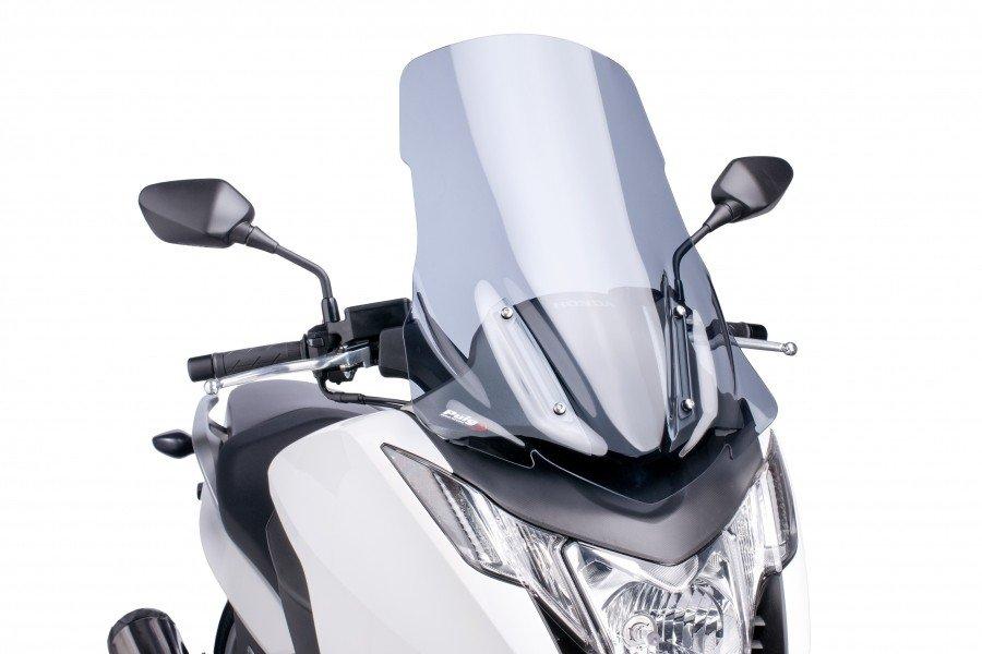 """Plexi štít PUIG """"V-Tech Line Touring"""" na Honda Integra 750 (14-16) Čirá (W)"""