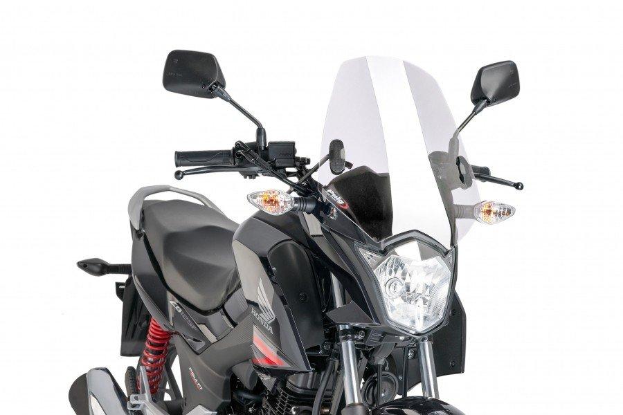"Puig 7726 Windscreens ""Naked New Generation"" Honda CB 125 F (15-16) Čirá (W)"