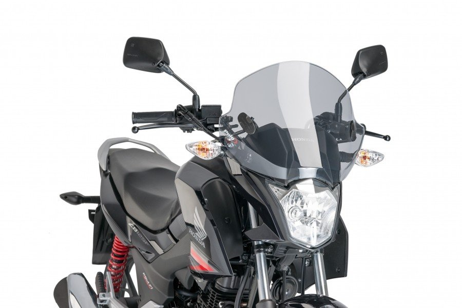 "Puig 8425 Windscreens ""Stream"" Honda CB 125 F (15-17) Čirá (W)"