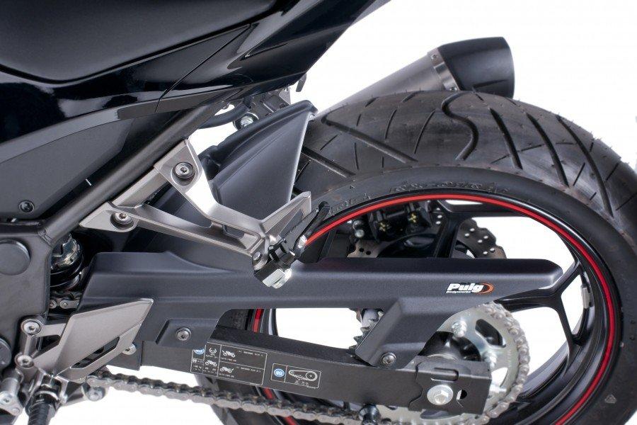 Puig 6843 Rear Fenders Kawasaki Ninja 300 (13-15) Černá (N)