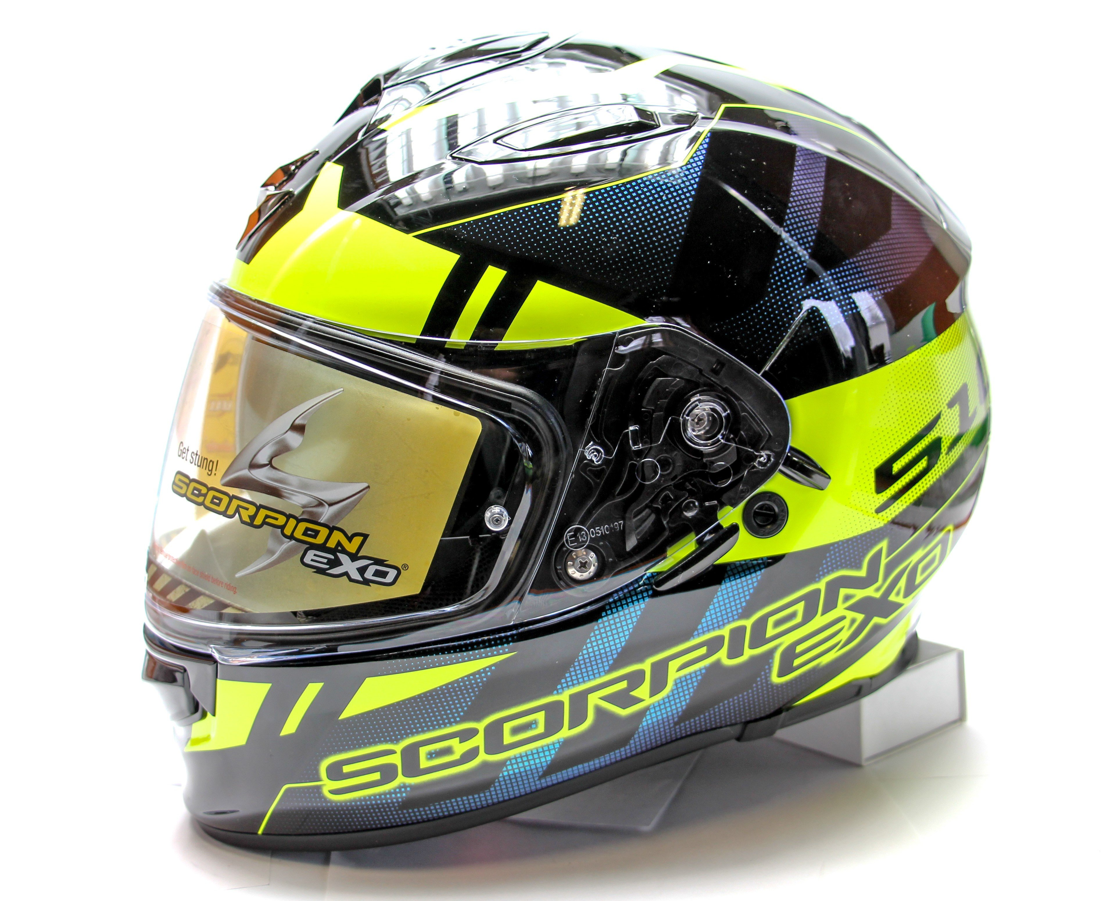 Scorpion EXO 510 AIR Stage /Neon Yellow XS (53/54)