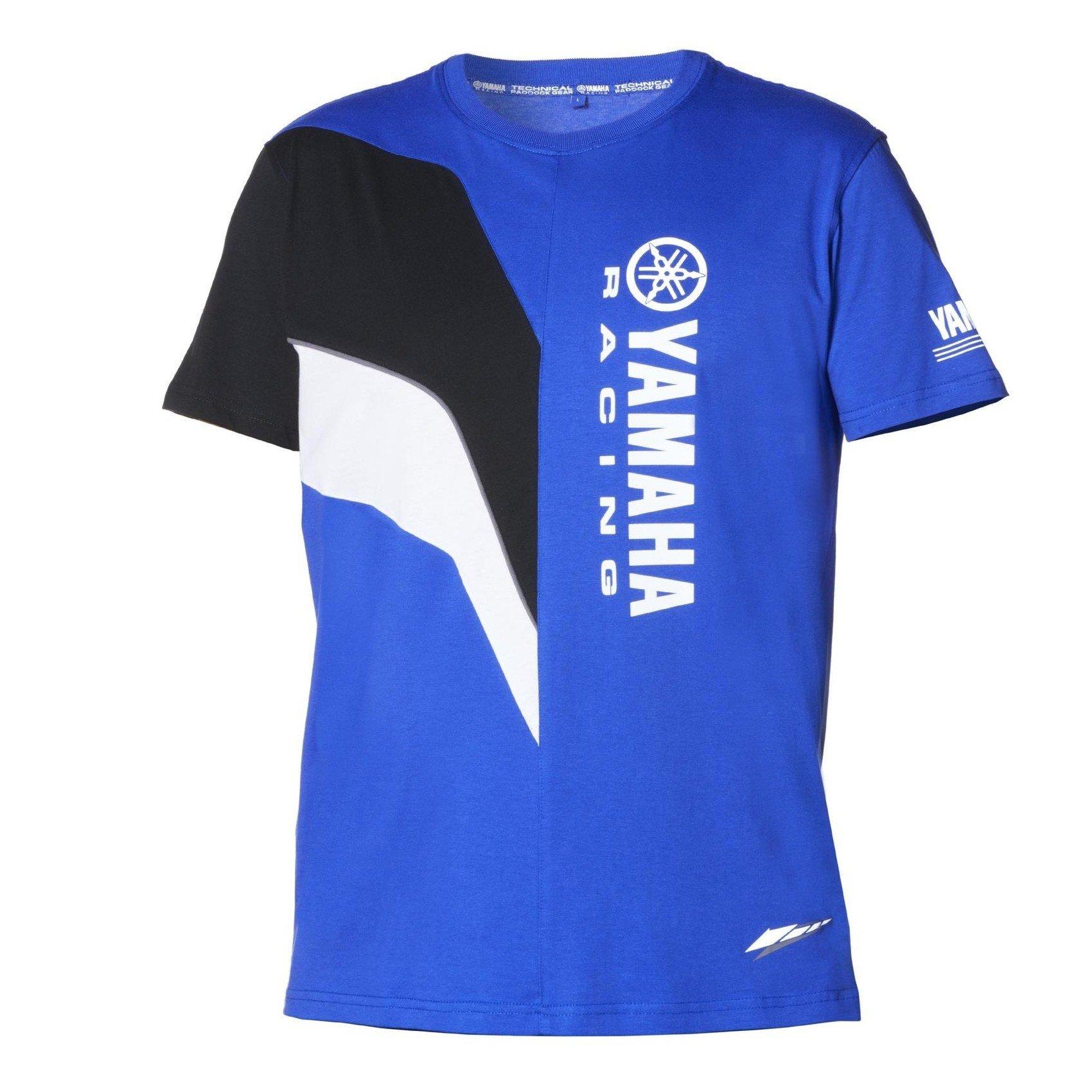 Pánské tričko s krátkým rukávem YAMAHA Paddock Blue 2016 (modré) S