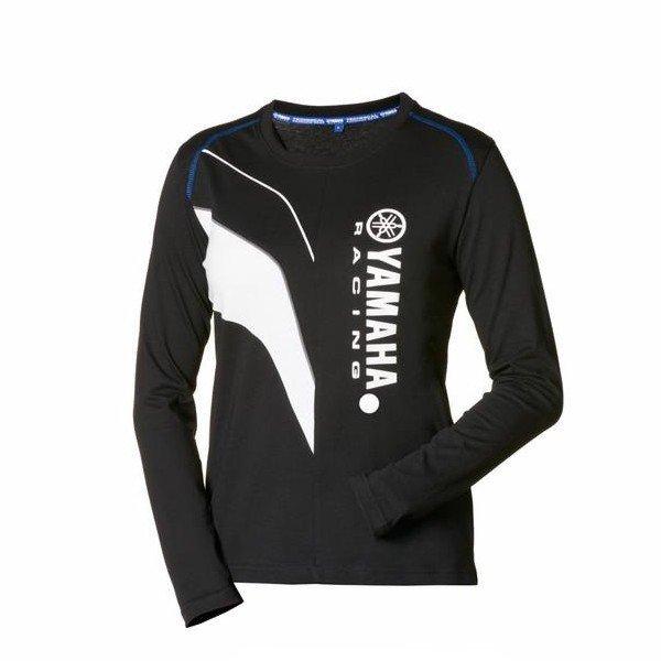 Dámské tričko s dlouhým rukávem YAMAHA Paddock Blue 2016 (černo/bílé) XS