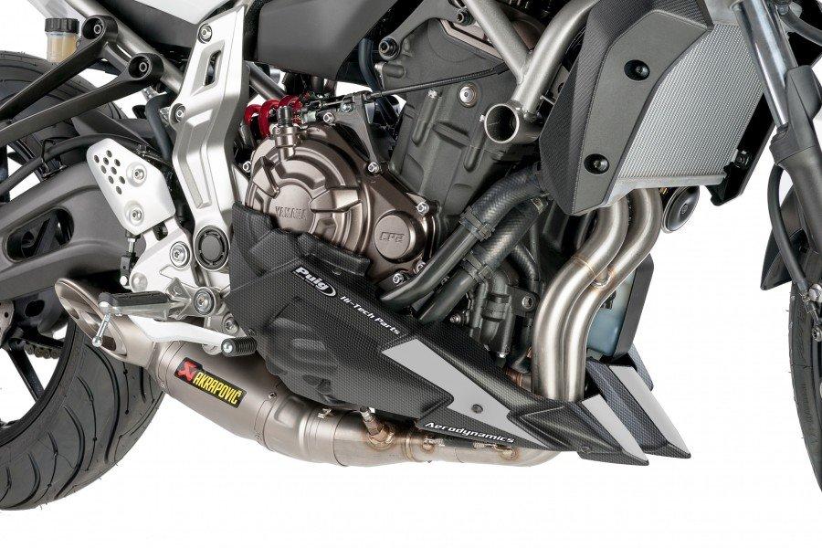 Puig 7022 Engine Spoilers Yamaha MT-07/Tracer (14-17) Karbonová (C)