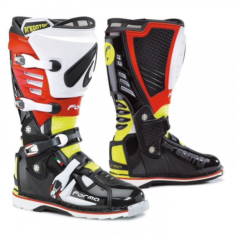 Forma PREDATOR Black/Yellow Fluo/Red 41