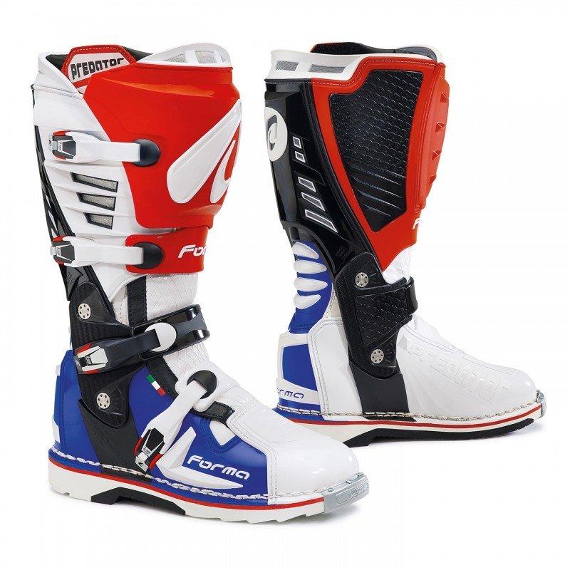 Forma PREDATOR White//Red/Blue 41