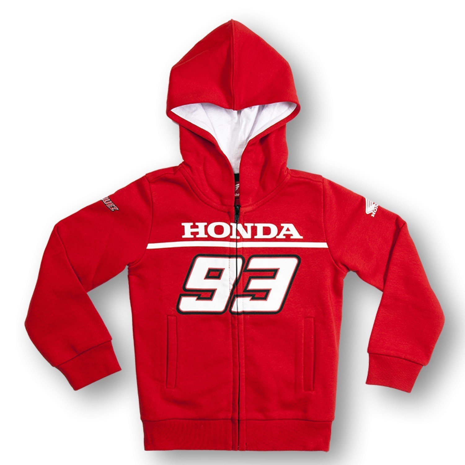 Marc marquez Hoodie Childrens Honda 93 Red 6-7 let