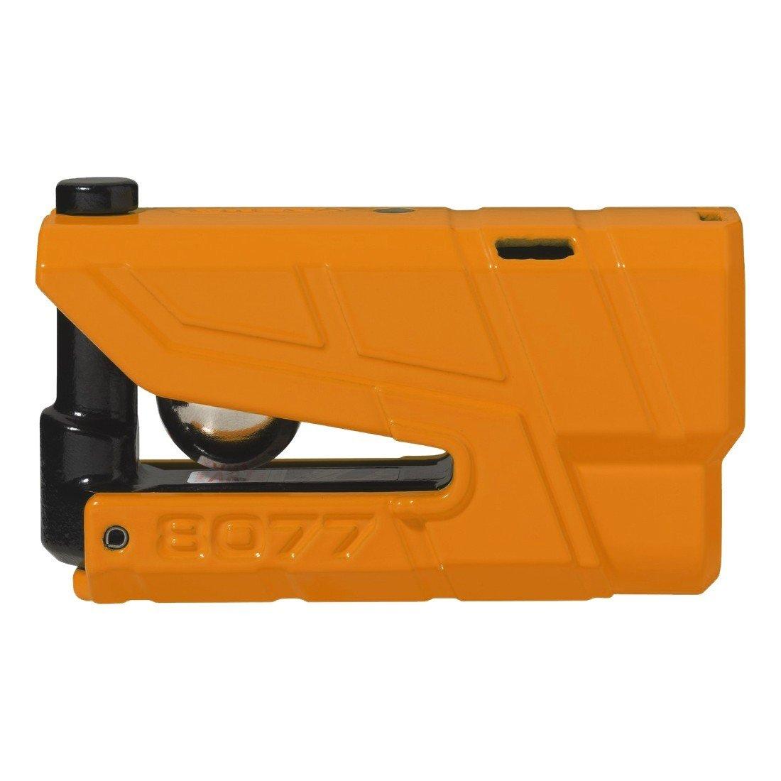 Bezpečnostní zámek na kotouč brzdy s alarmem a pohybovým čidlem 360° ABUS Granit Detecto 8077 (oranžový)