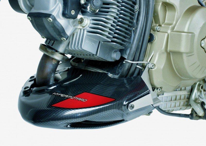 Puig 4700 Engine Spoilers Ducati Hypermotard 796/1100/S (07-12) Černá (N)