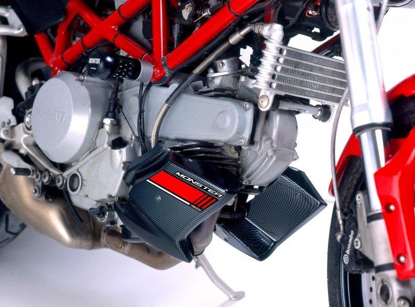 Puig 4535 Engine Spoilers Ducati Monster 600/620/695/S2R (94-07) Karbonová (C)