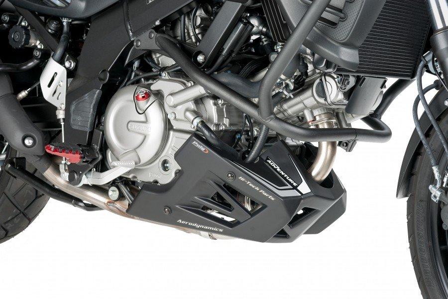 Puig 5896 Engine Spoilers Suzuki DL 650/XT V-Strom (12-17) Karbonová (C)