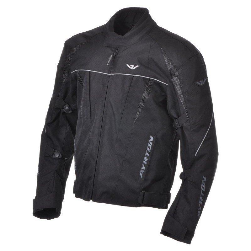 Pánská textilní bunda na motocykl AYRTON Stunt (černá) 5XL