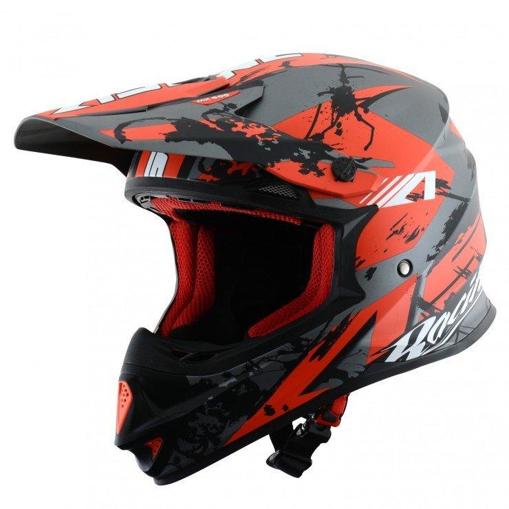 Motokrosová přilba ASTONE MX 600 Giant Glitter (červená) XXL (63/64)