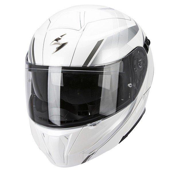 Scorpion EXO 920 GEM Pearl White/Silver XS (53/54)
