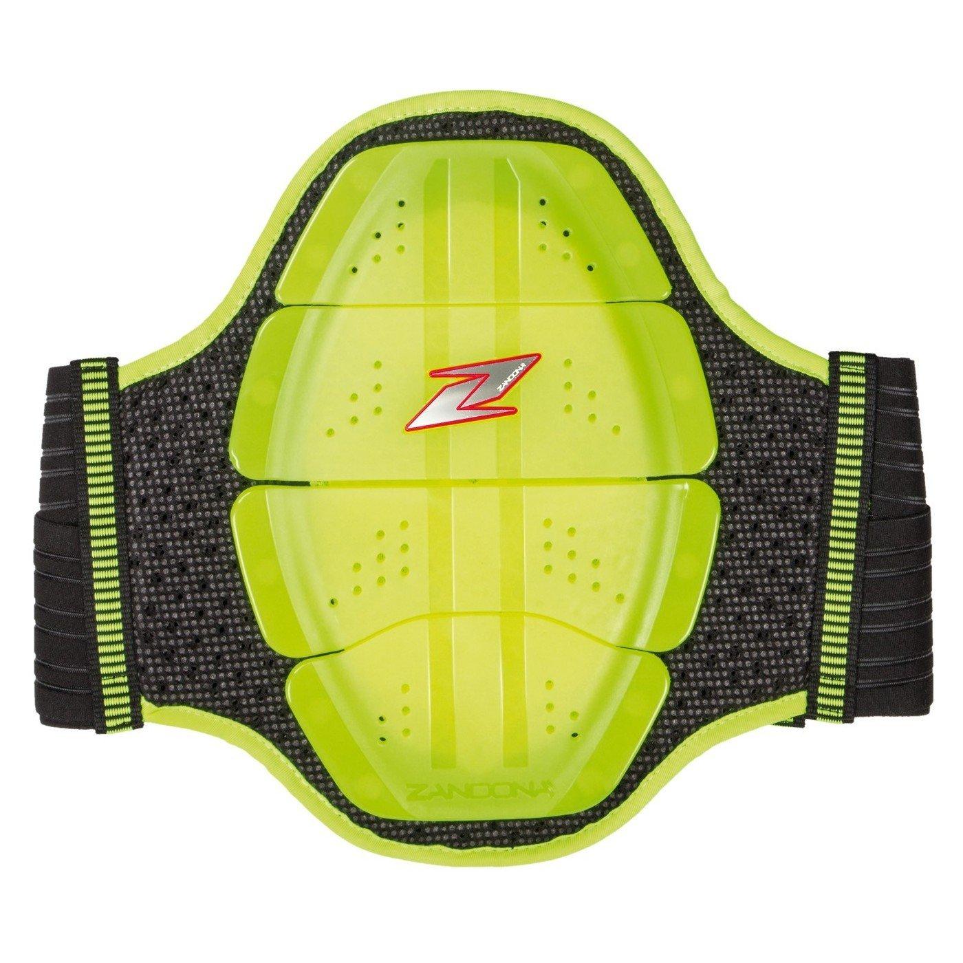 Páteřový chránič ZANDONA Shield EVO x4 (neonově žlutý) L