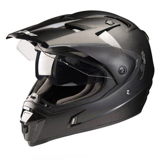 Sportovní enduro přilba NOX N311 (matně černá) XS (53/54)