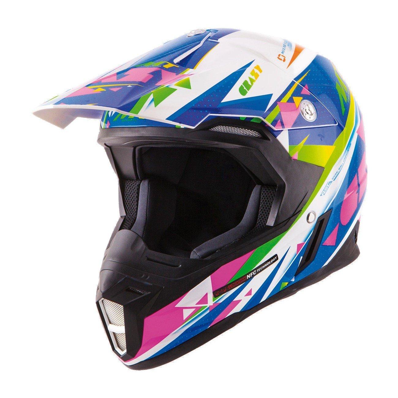 Motokrosová přilba MT Helmets Synchrony Crazy XXL (63/64)