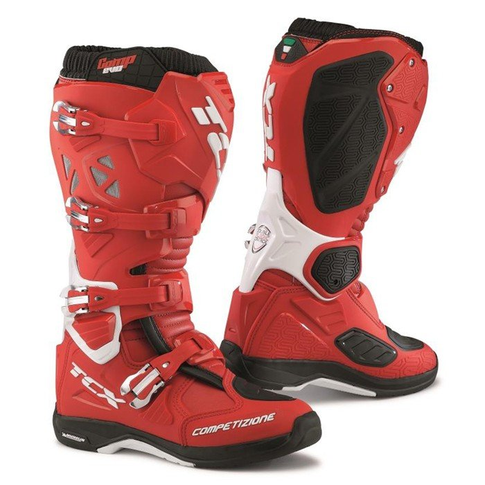 TCX COMP EVO MICHELIN Red 49