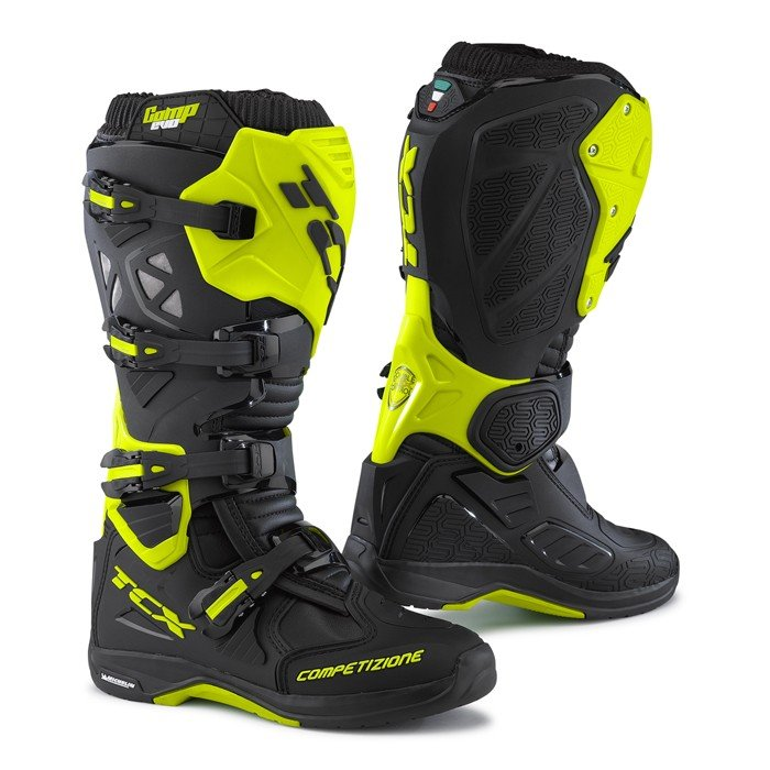 TCX COMP EVO MICHELIN Black/Yellow Fluo 49