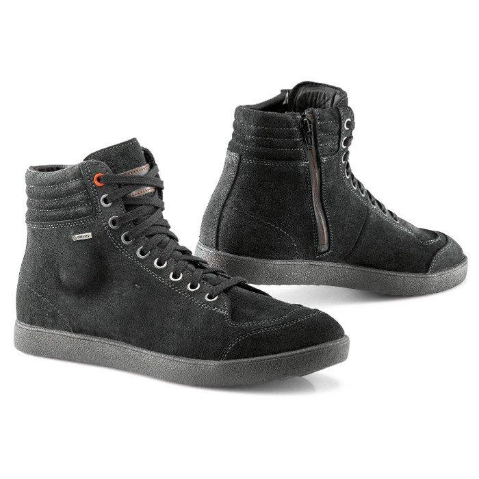Turistická motocyklová obuv TCX X-Groove s voděodolnou Gore-Tex® membránou (černá) 36