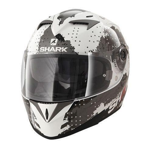 Shark S700S Squad White/Black/Red S (55/56)
