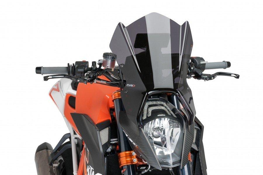 Puig 8140 Větrný štít Naked NEW GENERATION GPS KTM 1290 Superduke R (14-16) Čirá (W)