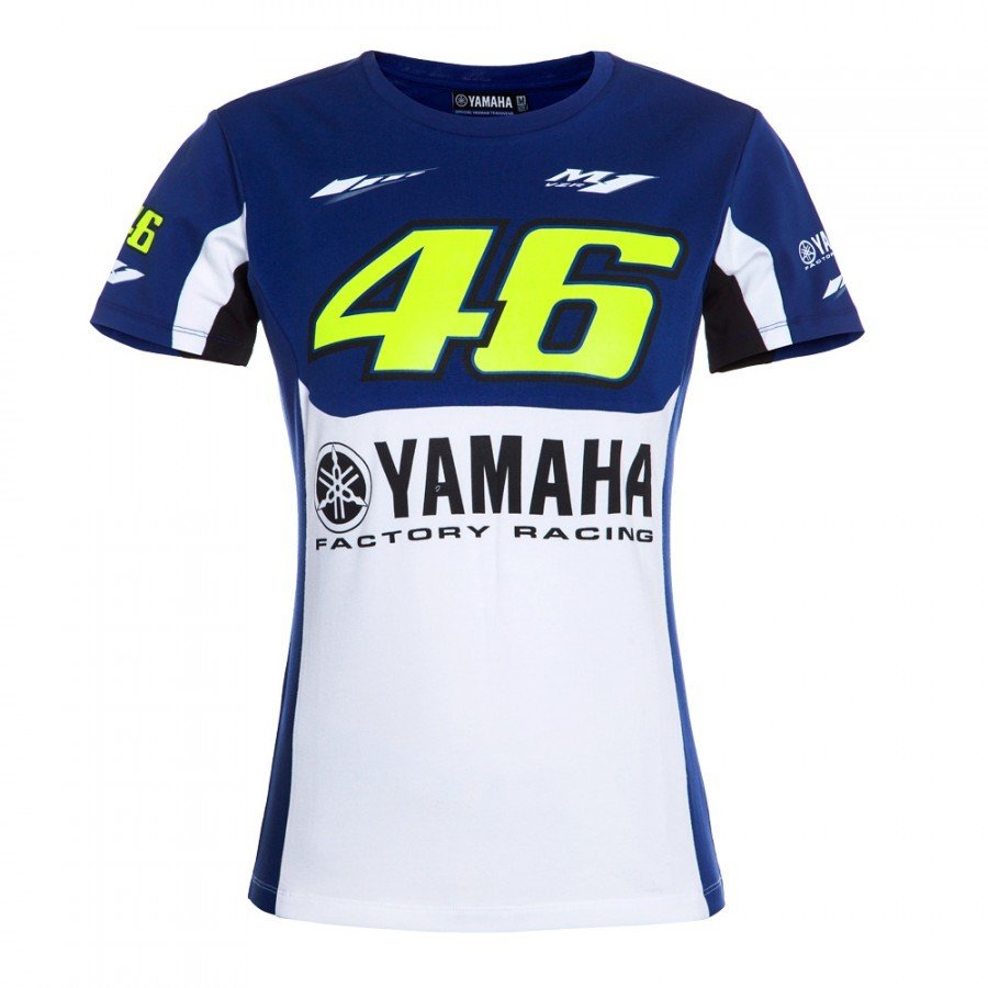 Vr46 Dámské triko Yamaha Dual 2016 L