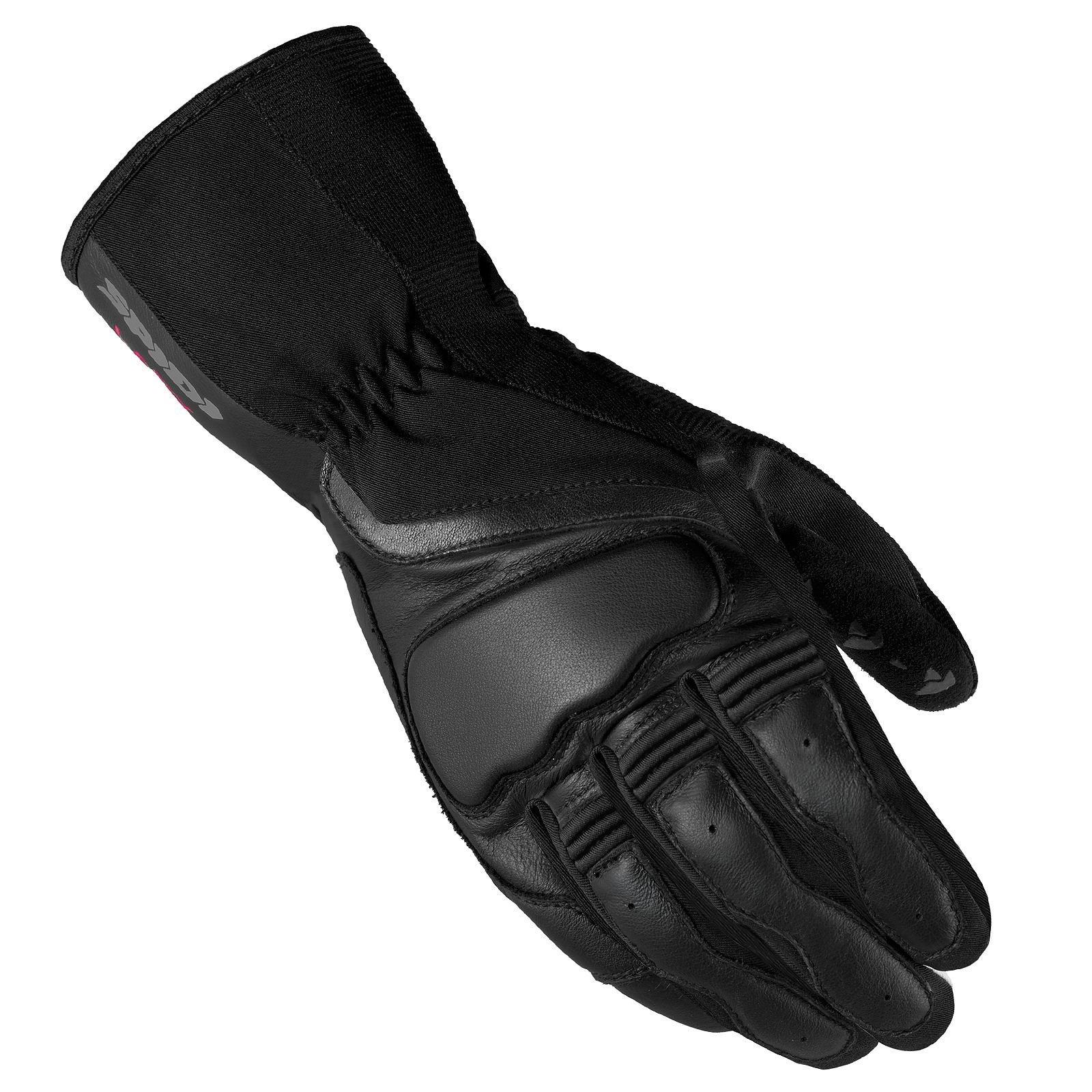 Dámské rukavice v kombinaci kůže/textil SPIDI Grip 2 (černé) S