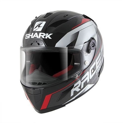 Shark Race-R Pro Sauer Black/Anthracite/Red S (55/56)