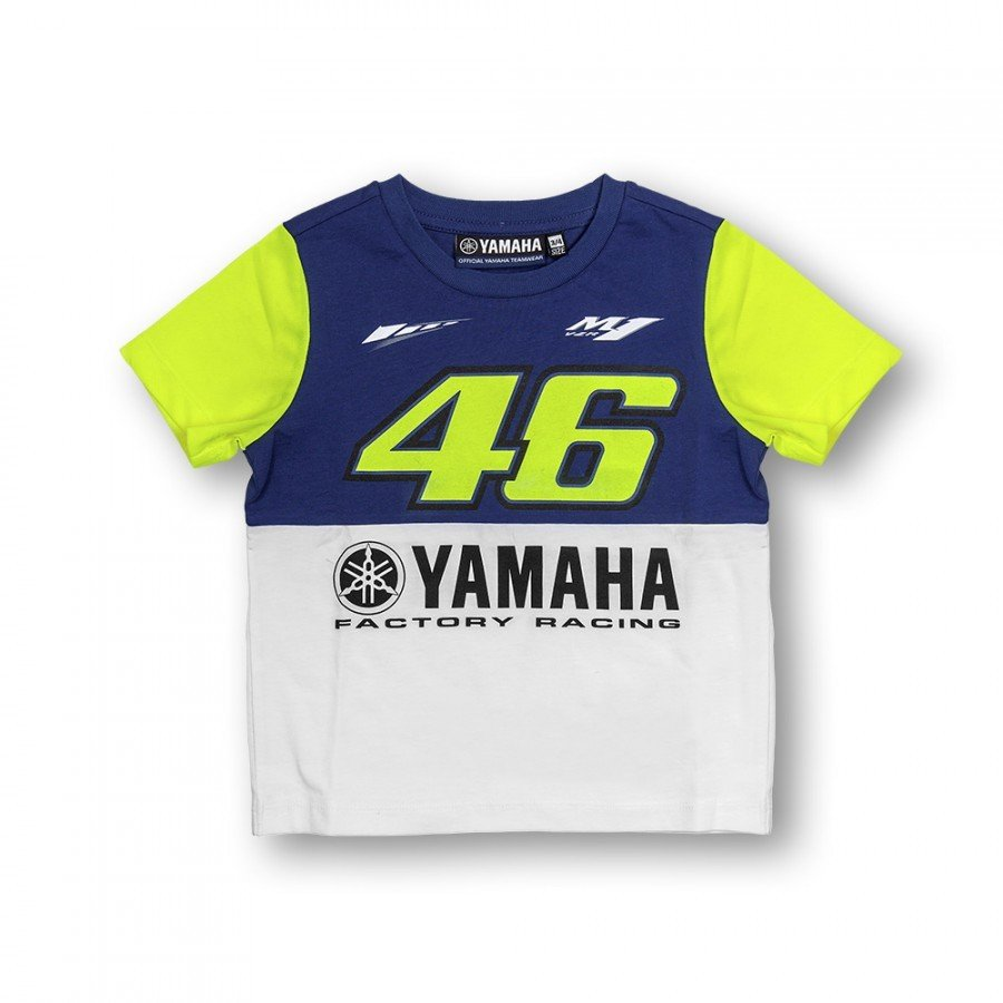 Vr46 Dětské triko Yamaha Dual 2016 4-5 let