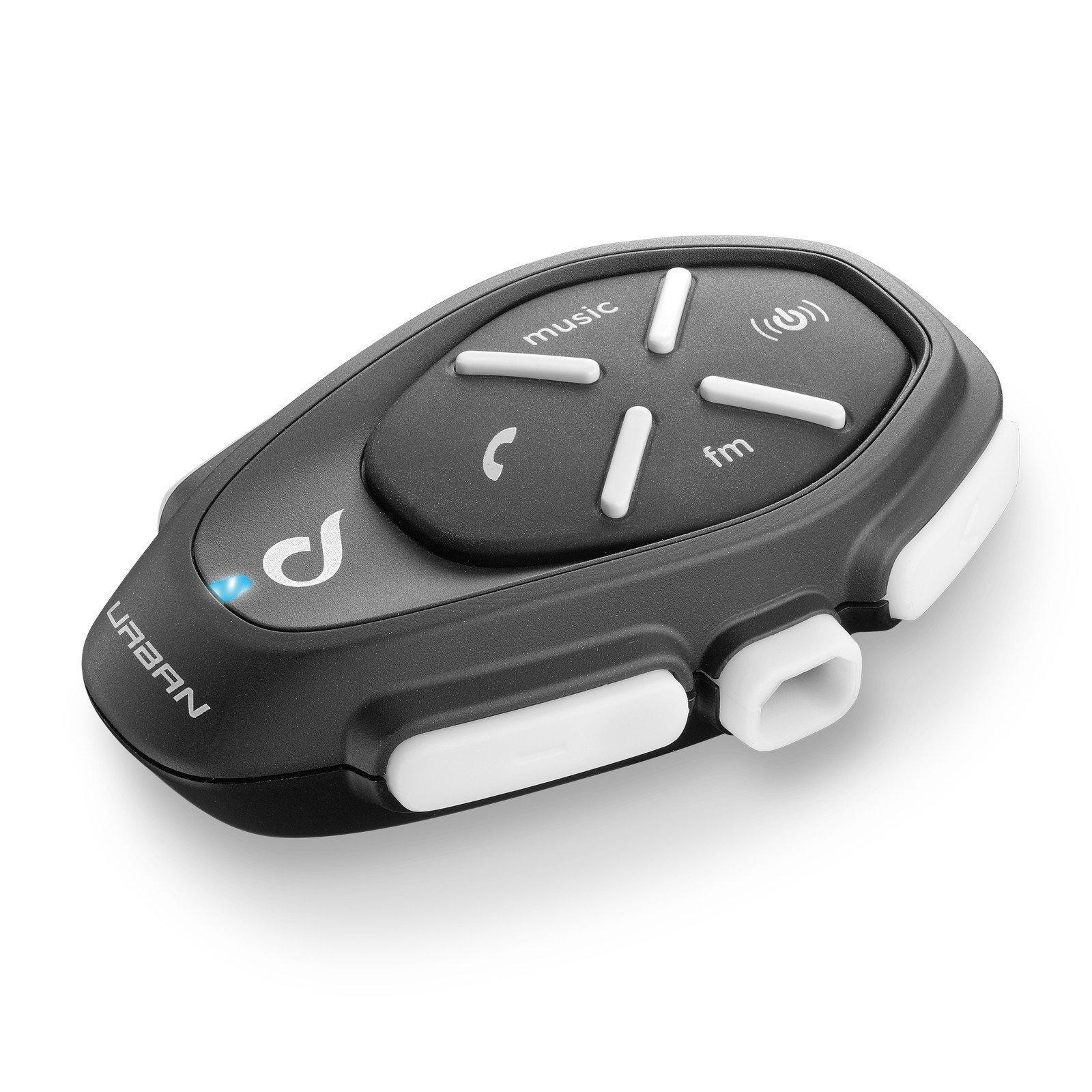 Bluetooth handsfree pro uzavřené i otevřené přilby CellularLine Interphone URBAN univerzální