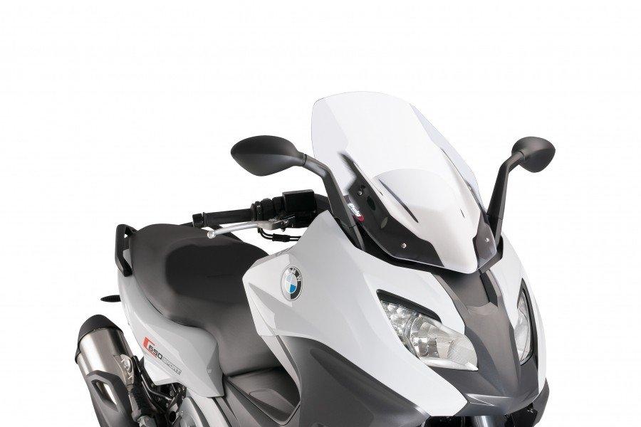 """Puig 9014 Windshields """"V-Tech Line Sport"""" BMW C650 Sport (16-17) Čirá (W)"""