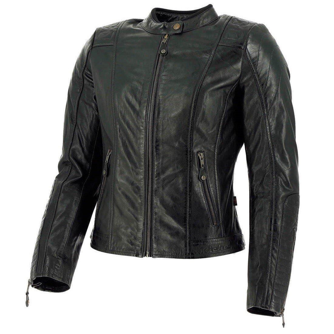Dámská kožená bunda RICHA Lousanne (černá) 34