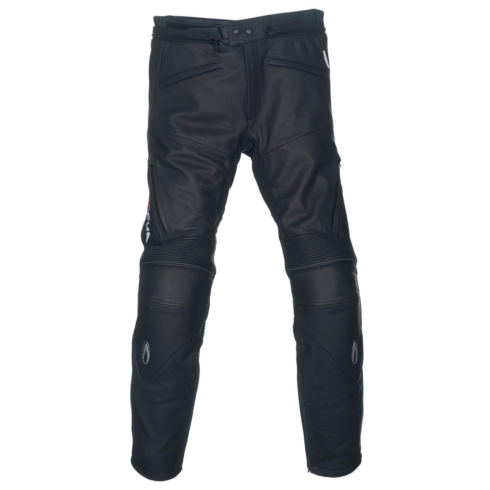 Pánské kožené kalhoty na motocykl RICHA TG1 (černé) 50