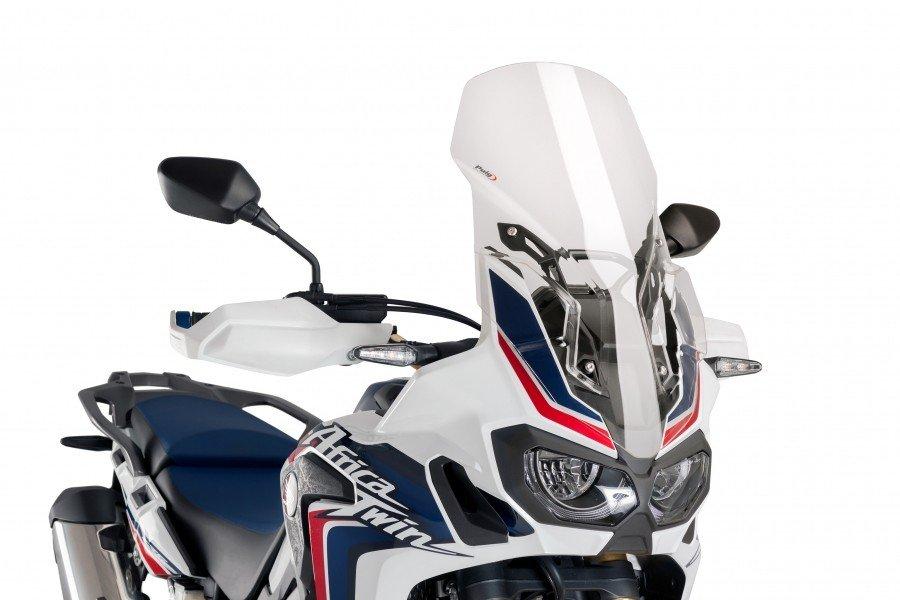 Puig 9156 Větrný štít s výztuhou TOURING Honda CRF 1000L Africa Twin (16-17) Čirá (W)