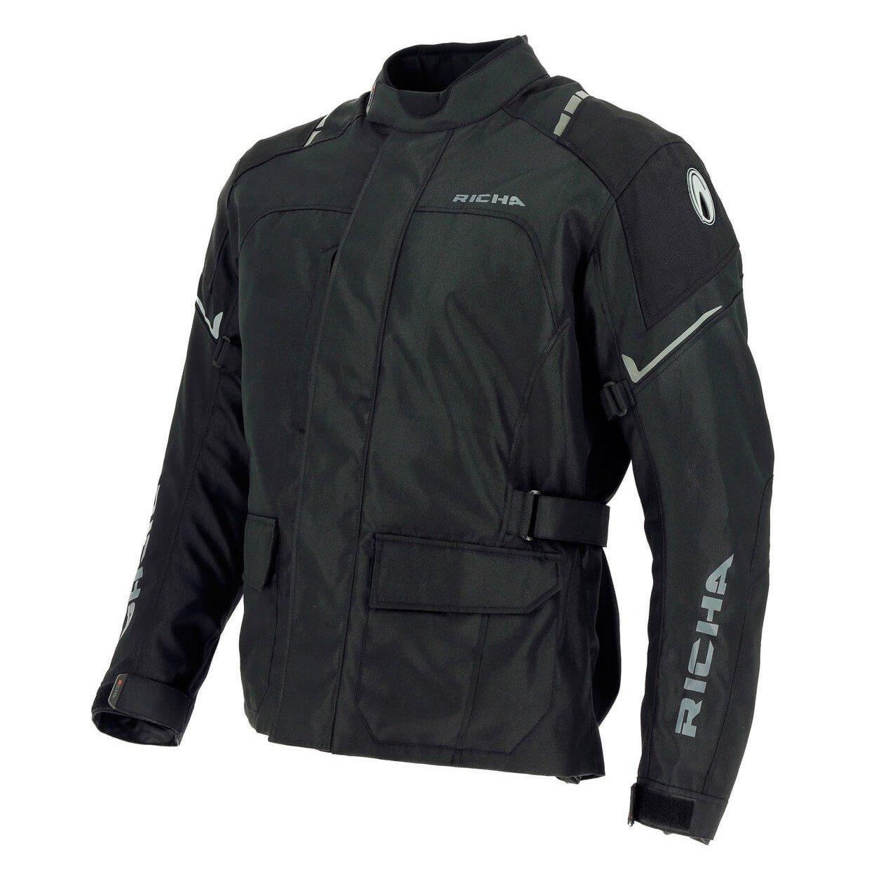Pánská textilní motobunda RICHA Condor (černá) 5XL