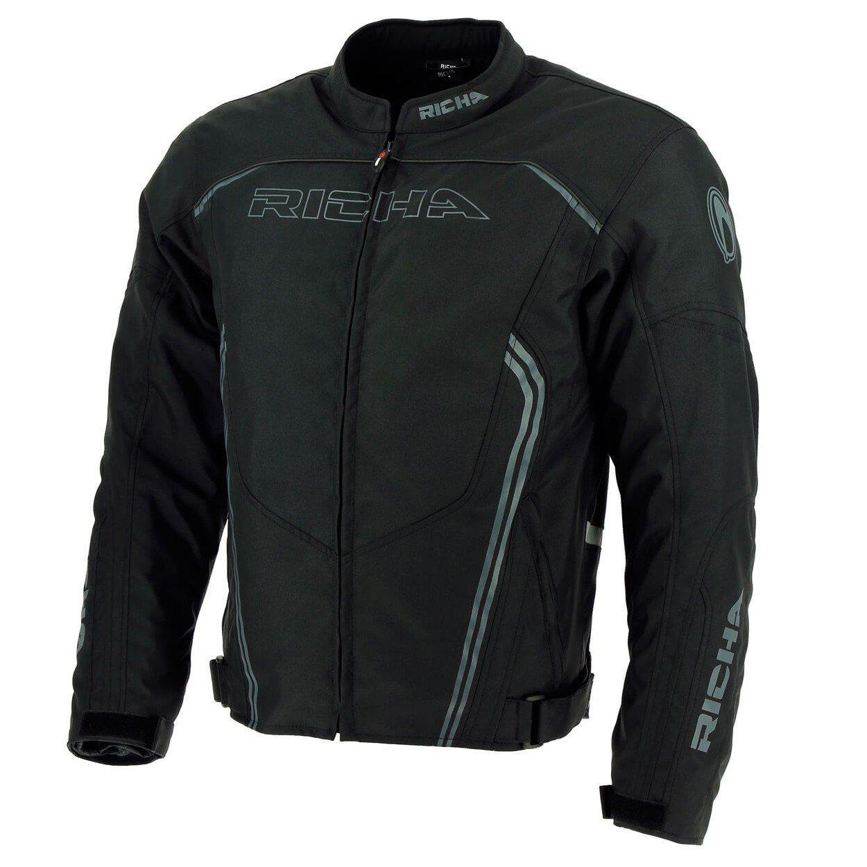 Pánská textilní motobunda RICHA Gotham (černá) 5XL