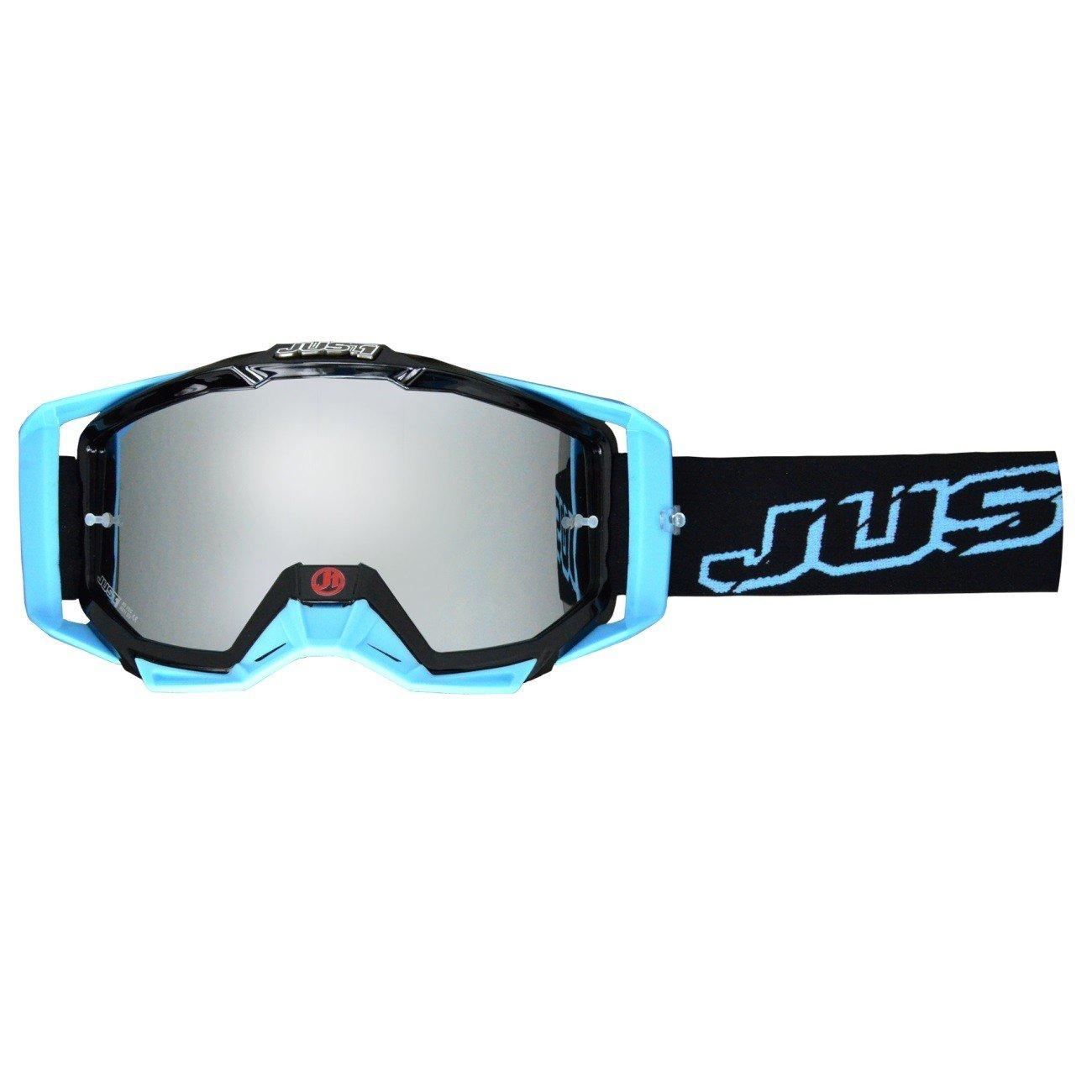 Motokrosové brýle Just1 Iris Neon (černo/modré)