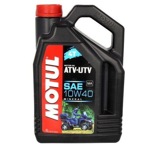 Minerální motorový olej MOTUL ATV-UTV 4T 10W40 4L (dříve Quad)