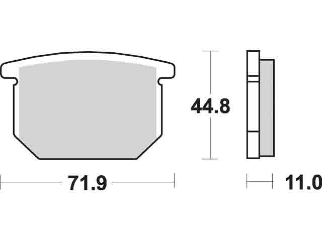 Sbs 534 HF Ceramic Street