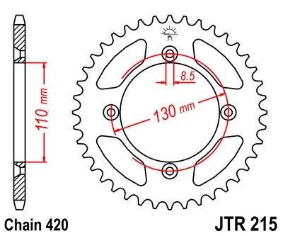 JT Sprockets Rozeta JTR 215.47