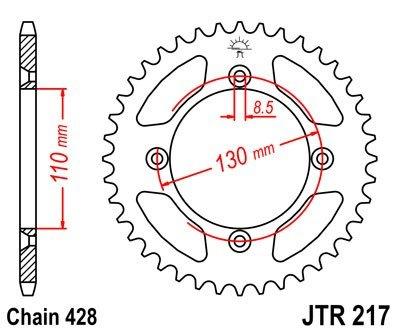 JT Sprockets Rozeta JTR 217.55