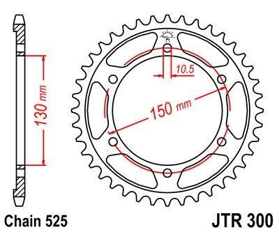 JT Sprockets Rozeta JTR 300.47