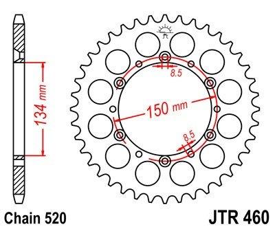 JT Sprockets Rozeta JTR 460.47