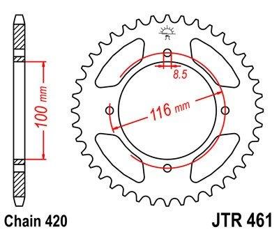 JT Sprockets Rozeta JTR 461.47