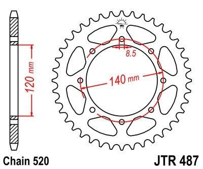 JT Sprockets Rozeta JTR 487.47