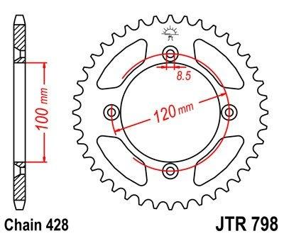 JT Sprockets Rozeta JTR 798.47